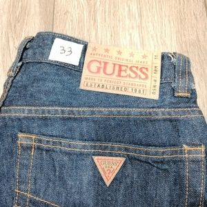 2000S GUESS MADE IN USA BAGGY DENIM JEANS